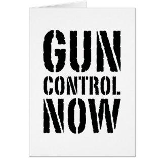 Gun Control Now Card