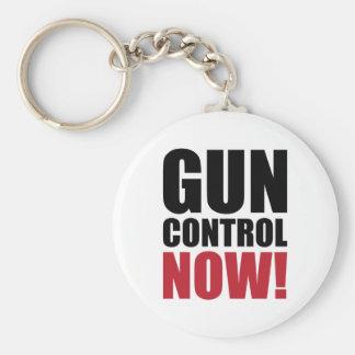Gun control now keychain