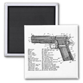 Gun Diagram V2 Square Magnet