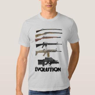 Gun Evolution Tee Shirts