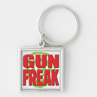 Gun Freak R Key Chains