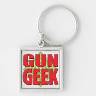 Gun Geek v2 Key Chain