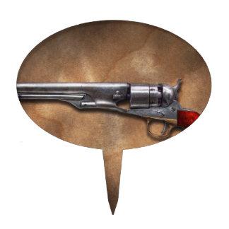 Gun - Model 1860 Army Revolver Oval Cake Topper