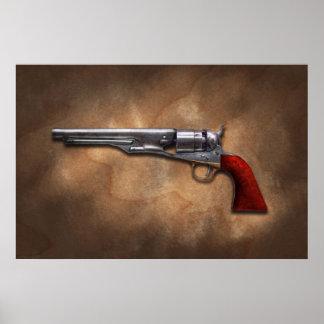 Gun - Model 1860 Army Revolver Posters