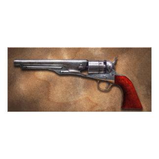 Gun - Model 1860 Army Revolver Rack Card