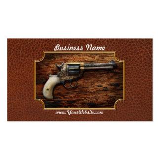Gun- Police - True Grit Business Card Templates