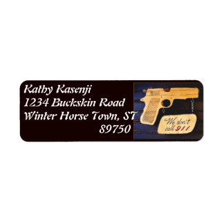 Gun Return Address Label
