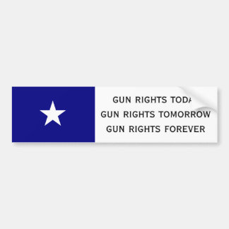 gun rights today bumper sticker