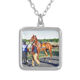 Gun Runner Silver Plated Necklace