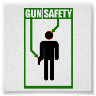 Gun Safety Poster