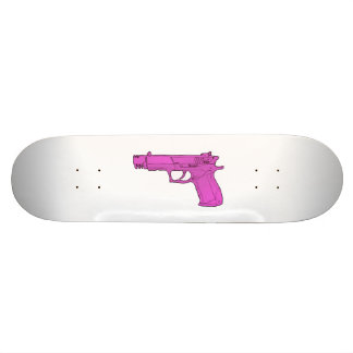 gun skateboard