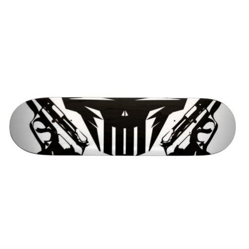 Gun Skateboard Deck