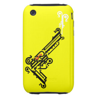 Gun Tattoo iPhone 3 Case