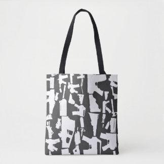 Gun Toting Tote Bag