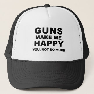 Gun Trucker Hat by Mini Brothers
