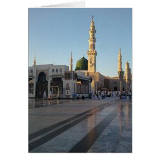 Gunbad-e-Khidra (Masjid Nabwi) Medina Card