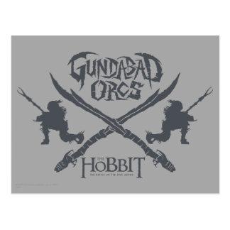 Gundabad Orcs Movie Icon Postcard