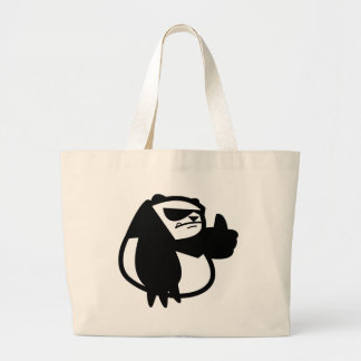Gung Ho Panda Large Tote Bag