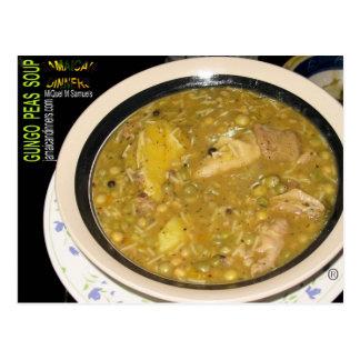 Gungo Peas Soup Postcard