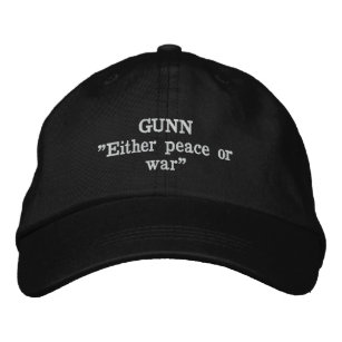 Gunn Clan Motto Embroidered Hat