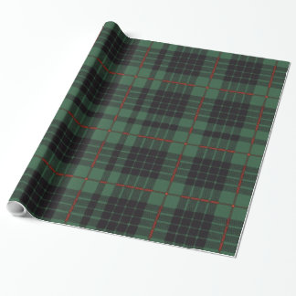 Gunn clan Plaid Scottish tartan Wrapping Paper