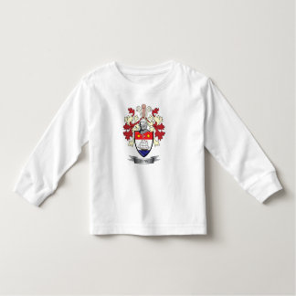 Gunn Family Crest Coat of Arms Toddler T-Shirt