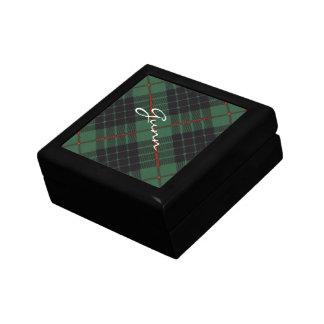 Gunn Scottish Tartan Small Square Gift Box