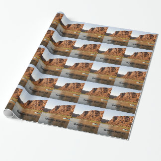 Gunnison River, CO Wrapping Paper