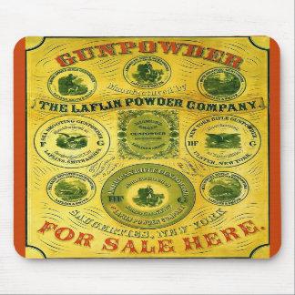 Gunpowder For Sale Here ~ Vintage Advertising Mousemat