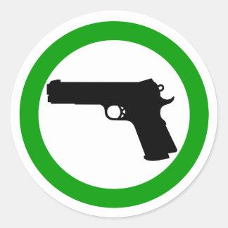 Guns Allowed Zone sticker