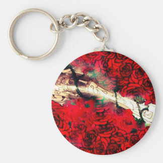 Guns and roses key ring