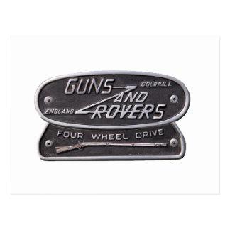 Guns and Rovers Logo3.png Postcard