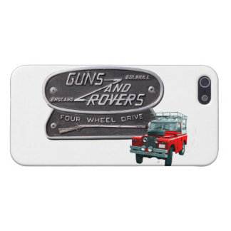 Guns and Rovers Red Rover iPhone 5 Case