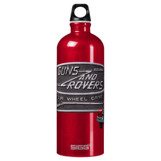 Guns and Rovers Red Rover Water Bottle