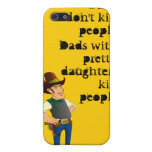 Guns Don't Kill, Dadism iPhone 4 Case