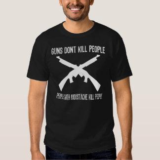 Guns don't kill people 02 tshirt