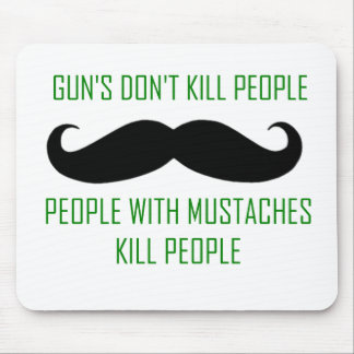 Guns Don't Kill People Mouse Pad