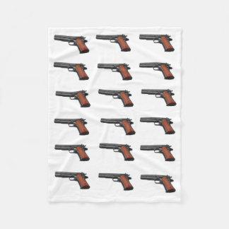 GUNS FLEECE BLANKET
