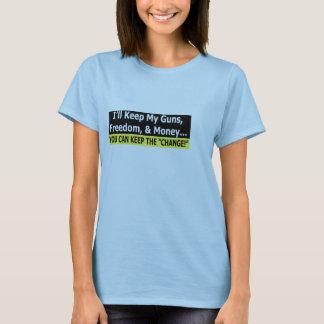 Guns, Freedom, and Money T-Shirt