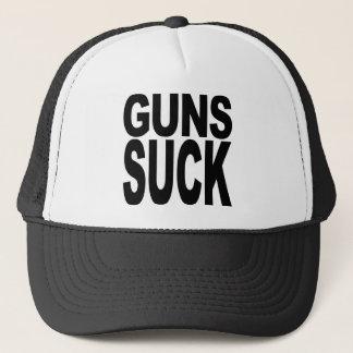 Guns Suck Trucker Hat