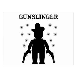 Gunslinger Cowboy Minifig Postcards