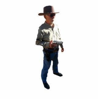 Gunslingers of the West - No Name Photo Sculpture Decoration