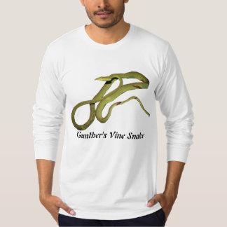 Gunther's Vine Snake American Apparel Long Sleeve Shirt