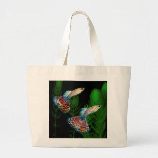 Guppies Large Tote Bag