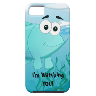 Guppy fish illustration iPhone 5 cover