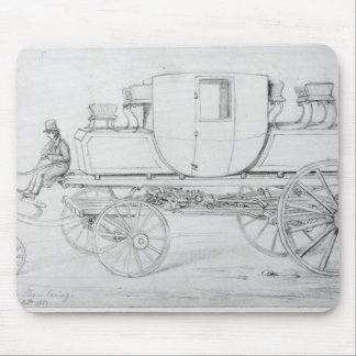 Gurney's Steam Carriage, 1827 Mouse Pad
