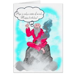 guru of the mountain card