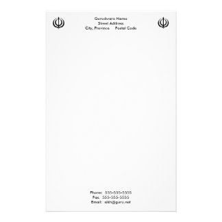 Gurudwara Notepad Stationery