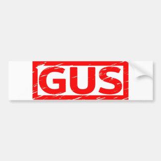 Gus Stamp Bumper Sticker