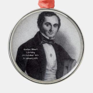 Gustav Albert Lortzing Metal Ornament